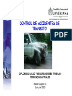 Control Accidentes Tránsito