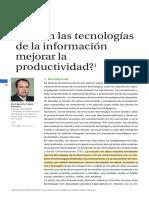 Tech Pueden Las TIC Mejorar La Productivadad Diplom