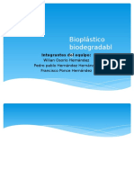 Bioplástico Biodegradable