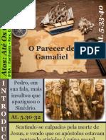 12 - O Parecer de Gamaliel