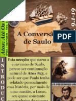17 - A Conversão de Saulo