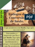 18 - Epílogos Da Conversão de Saulo