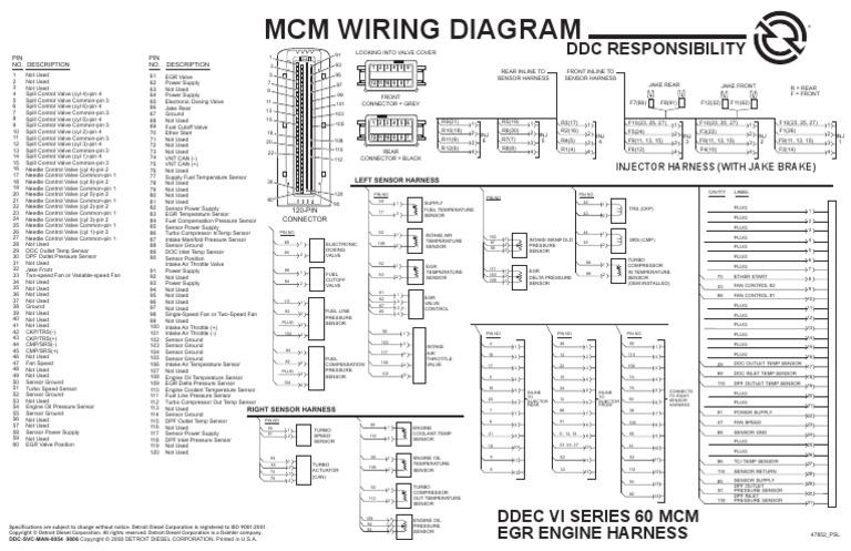 ddec vi wiring diagram collection of wiring diagram u2022 rh saiads co