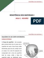 Aula 01 - Resistência Dos Materiais I(1)