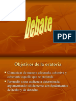 Debate, Exp. Oral y Falacias
