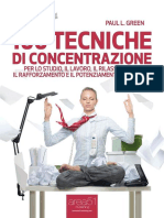 100 Tecniche Di Concentrazione. - Green, Paul L
