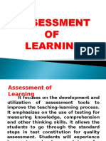 A - Principles of Assessment