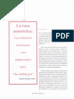 La Raza Asimetrica -Rodriguez Duran