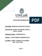 DOCUMENTO ANTROPOLOGÍA MEDICA - TRASTORNO DISMORFICO