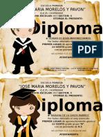 Diplomas Editables Graduados