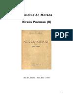 Vinicius de Moraes - Novos Poemas 02