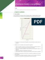 Funciones Lineales y Sus Graficas