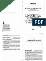 FARACO, Carlos Alberto. a Percepção Da Mudança - Linguística Histórica