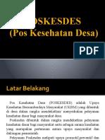 POSKEDES (Pos Kesehatan Desa)