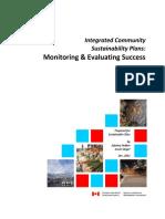 Icsps Monitoring and Evaluating Success Final