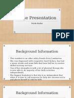 case presentation seminar