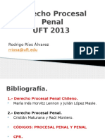 Derecho Procesal Penal UFT 2013 VESPERTINO