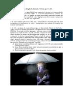 Estudo dirigido FT1_Termorregulação e Reparação Tecidual