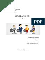 Trabajo Generaciones X e Y
