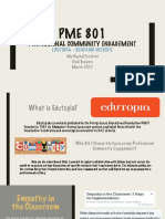 pme 801 - professional community engagement