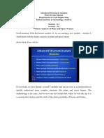 Matrix Analysis of Plane and Space Frames - Devdas Menon
