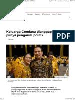 Keluarga Cendana Dianggap Tak Lagi Punya Pengaruh Politik - BBC Indonesia