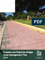Footpaths and Pedestrian Bridges AMP