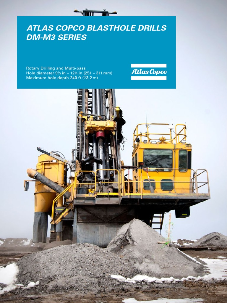 Atlas Copco DM-M3 (Ing) | Drilling Rig | Transmission (Mechanics)
