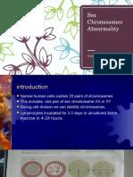 Sex Chromosomes Abnormality