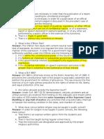 Consti 2-2014 Questions