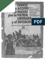 1986 - PCA - Scan 16 Congreso - Frente de Acción de Masas Por La Patria Liberada y El Socialismo - Athos Fava