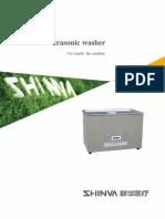 Ultrasonic Washer Brochure