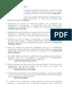 Cuestionario No. 1 Planeación Estratégica