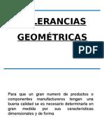 Tolerancias Geométricas metrología