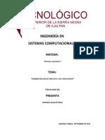 104845270 UNIDAD 2 Administracion de Procesos y Del Procesador