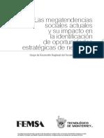 Las Megatendencias Sociales Actuales y Su Impacto en La Identificacion Oportunidades Estrategicas de Negocios