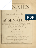 Senaillé Violin Sonatas 3