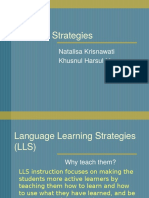 Nata-Khusnul - SLA - First Draft of Learning Strategies Presentation