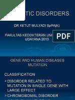 Genetic Disorders1