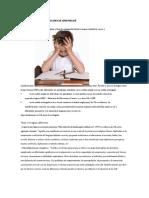 Concepto y Clasificación -Dificultades de Aprendizaje