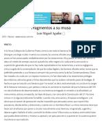 Aguilar, Luis Miguel - 'Fragmentos a Su Musa' _ Nexos