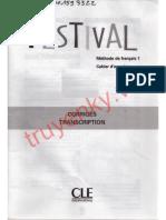 Festival 1- Corrige Et Transcrip