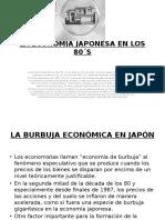 LA ECONOMIA JAPONESA EN LOS 80´S
