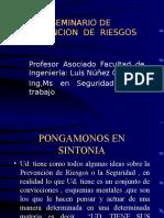 Seminario de Prevención de Riesgos.