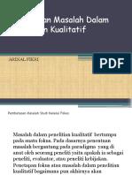 Perumusan Masalah Dalam Penelitian Kualitatif.pptx