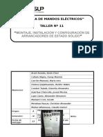 Informe Taller 11