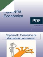 Capítulo N° 3 Evaluación de alternativas de inversión