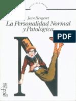 Bergeret - La Personalidad Normal y Patologica