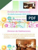 Division de Habitaciones