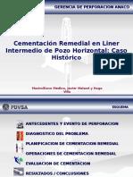 Cementación Remedial en Liner Intermedio de Pozo Horizontal